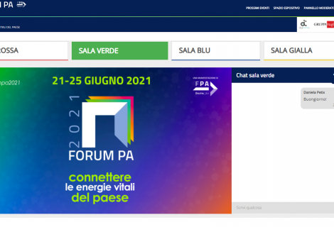 """""""FORUM PA 2021"""": ecco come seguire gli eventi, commentare e visitare gli stand virtuali"""