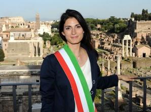 Il Sindaco di Roma Capitale, Virginia Raggi, al Talk sulle responsive city
